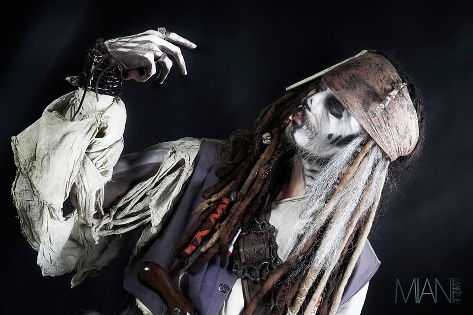 Jack Sparrow cosplayer Louis Guglielmero