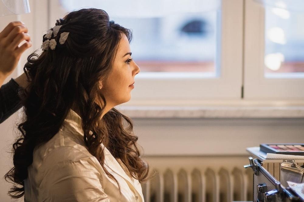 Trucco e acconciatura sposa Trieste Mianimakeup Federica Miani
