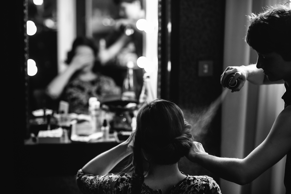 Trucco e acconciatura by Federica Miani - Photo by Julian Kanz Photography
