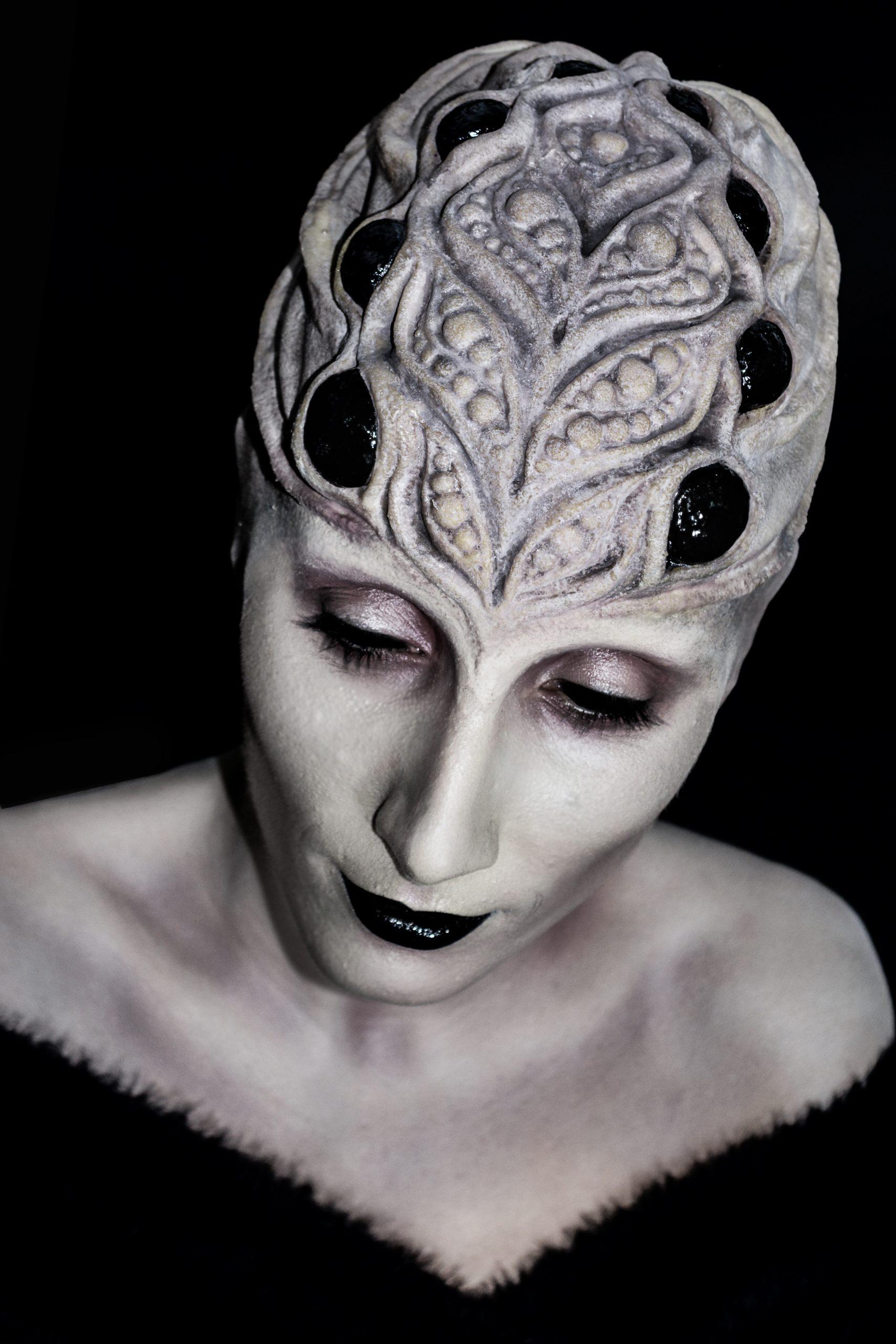 Alien, lattex prostetic special effects professional makeup